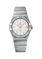 Omega Constellation Silver Dial Stainless Steel Omega Co-Axial Mens Watch 12310382102002