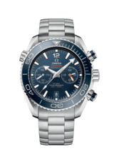 Omega Seamaster Planet Ocean 600M Omega Co-Axial Master Chronometer Mens Blue Dial Stainless Steel Chronograph Wristwatch 21530465103001