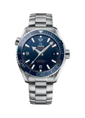 Omega Seamaster Planet Ocean 600M Omega Co-Axial Master Chronometer Blue Dial Stainless Steel Mens 43.5mm Wristwatch 21530442103001