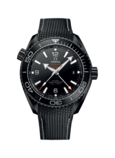 Omega Seamaster Planet Ocean 600M Deep Black Omega Co-Axial Master Chronometer GMT Mens Wristwatch 21592462201001
