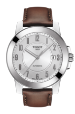 Tissot Gentleman Swissmatic Silver Dial Stainless Steel Mens Watch T0984071603200