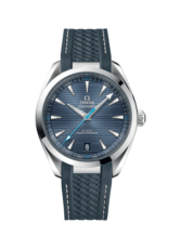 Omega Seamaster Aqua Terra 150M Omega Co-Axial Master Chronometer Blue Dial Stainless Steel Mens 41mm Wristwatch 22012412103002