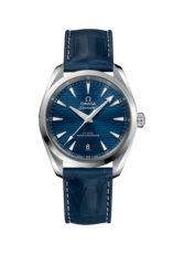Omega Seamaster Aqua Terra 150M Omega Co-Axial Master Chronometer Blue Dial Stainless Steel Mens 38mm Wristwatch 22013382003001