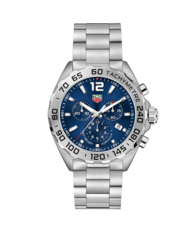 TAG Heuer Formula 1 Blue Dial Stainless Steel Mens Quartz Chronograph Watch CAZ101K.BA0842
