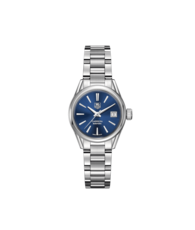 TAG Heuer Carrera Calibre 9 Blue Dial Stainless Steel Womens Watch  WAR2419.BA0776