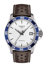 Tissot V8 Swissmatic Silver Dial Stainless Steel Mens Watch T1064071603100