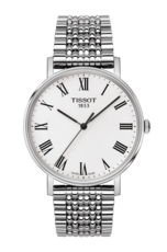 Tissot Everytime Medium Silver Dial Stainless Steel Mens Quartz Watch T1094101103300