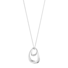 Georg Jensen OFFSPRING Sterling Silver Pendant Necklace 10012762