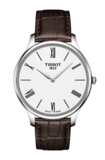 Tissot Tradition White Dial Stainless Steel Mens Quartz Watch T0634091601800