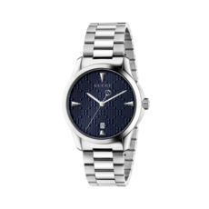 Gucci G-Timeless Blue Dial Stainless Steel Unisex Quartz Watch YA1264025