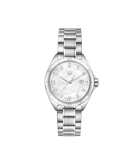 TAG Heuer Formula 1 Mother of Pearl Diamond Set Dial Stainless Steel Womens Quartz Watch WBJ1419.BA0664