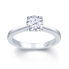 Platinum Solitaire 4 Claw Set 1.00ct Single Stone Diamond Ring