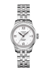 Tissot Le Locle Silver Diamond Set Dial Stainless Steel Womens Watch T41118316