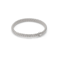 FOPE Flex'it Vendôme 18ct White Gold Bracelet 561BM