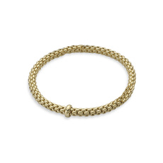 FOPE Flex'it Solo 18ct Gold Bracelet 620BM