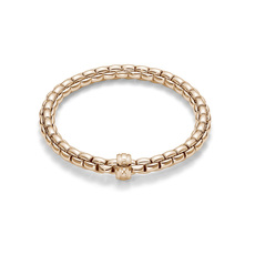 FOPE Flex'it Eka 18ct Rose Gold Bracelet 704B