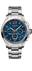 Longines Conquest V.H.P. Blue Dial Stainless Steel Mens Quartz Chronograph Watch L37274966