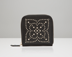 WOLF Marrakesh Black Travel Zip Jewellery Case 308502