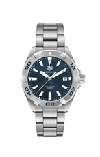 TAG Heuer Aquaracer Blue Dial Stainless Steel Mens Quartz Watch WBD1112.BA0928