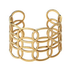 Links of London Vermeil Ovals Cuff Bangle 5010.4176