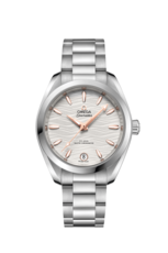 Omega Seamaster Aqua Terra 150M Stainless Steel Silver Dial Omega Co-Axial Master Chronometer Womens Watch 22010342002001