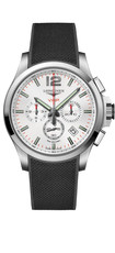 Longines Conquest V.H.P. Silver Dial Stainless Steel Mens Quartz Chronograph Watch L37274769
