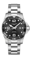 Longines HydroConquest Black Dial Stainless Steel Mens Watch L37824566