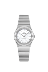 Omega Constellation Manhattan Mother of Pearl Dial Stainless Steel Womens Quartz Watch 25mm 13110256005001