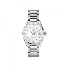 TAG Heuer Carrera Mother of Pearl Dial Stainless Steel Womens Quartz Watch  WBK1311.BA0652