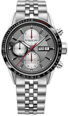 Raymond Weil Freelancer Silver Dial Stainless Steel Chronograph Mens Watch 7731-ST1-65421
