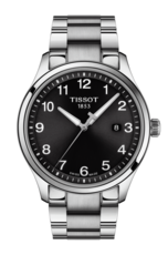 Tissot Gent XL Classic Stainless Steel Black Dial Mens Quartz Watch T1164101105700