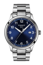 Tissot Gent XL Classic Stainless Steel Blue Dial Mens Quartz Watch T1164101104700