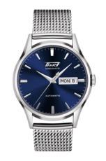 Tissot Heritage Visodate Blue Dial Stainless Steel Mens Watch T0194301104100