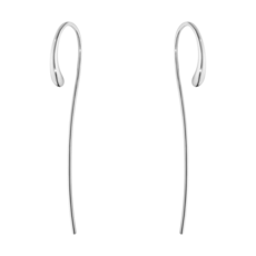 Georg Jensen MERCY Sterling Silver Hook Drop Earrings 10015599
