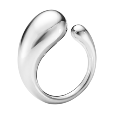 Georg Jensen MERCY Sterling Silver Ring (large) 10015120