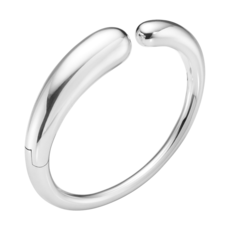Georg Jensen MERCY Sterling Silver Hinged Bangle 10015340