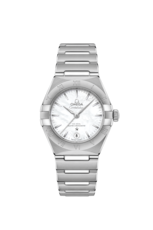 Omega Constellation Manhattan Mother of Pearl Dial Omega Co-Axial Master Chronometer Stainless Steel Womens Watch 13110292005001