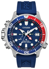 Citizen Eco-Drive Promaster Aqualand Blue Dial Stainless Steel Mens Watch BN2038-01L