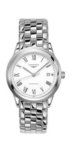 Longines Flagship White Dial Stainless Steel Mens Watch L49744116