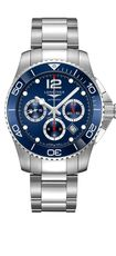 Longines HydroConquest Blue Dial Stainless Steel Mens Chronograph Watch L38834966