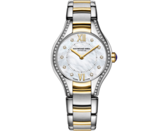 Raymond Weil Noemia Mother of Pearl Diamond Set Two Tone Womens Quartz Watch 24mm 5124-SPS-000985
