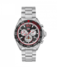 TAG Heuer Formula 1 Indy 500 Stainless Steel Mens Quartz Chronograph Watch CAZ101V.BA0842