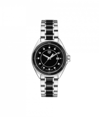 TAG Heuer Formula 1 Stainless Steel & Black Ceramic Diamond Set Womens Quartz Watch WBJ141AB.BA0973