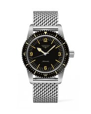 Longines Heritage Skin Diver Black Dial Stainless Steel Mens Watch L28224566