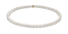 YOKO London 7mm Cultured Japanese Akoya Pearl Necklace
