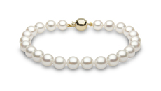 YOKO London 7mm Cultured Japanese Akoya Pearl Bracelet