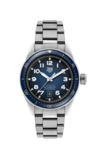 TAG Heuer Autavia Blue Dial Calibre 5 Chronometer Stainless Steel Mens Watch WBE5116.EB0173