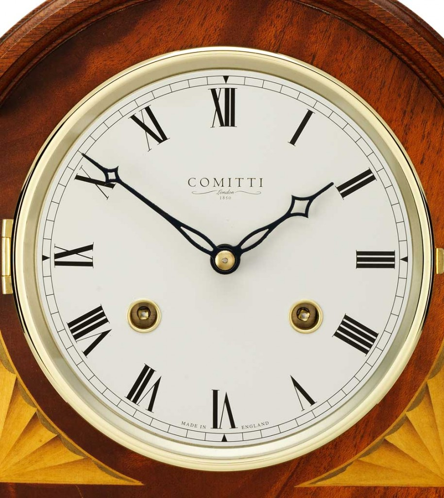 Comitti of london regency break arch mahogany mantel clock c4004s comitti of london regency break arch mahogany mantel clock c4004s thumbnail amipublicfo Images